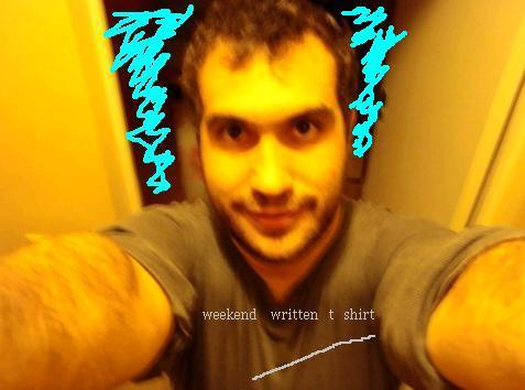 rough-atshirtwithweekendwritten2